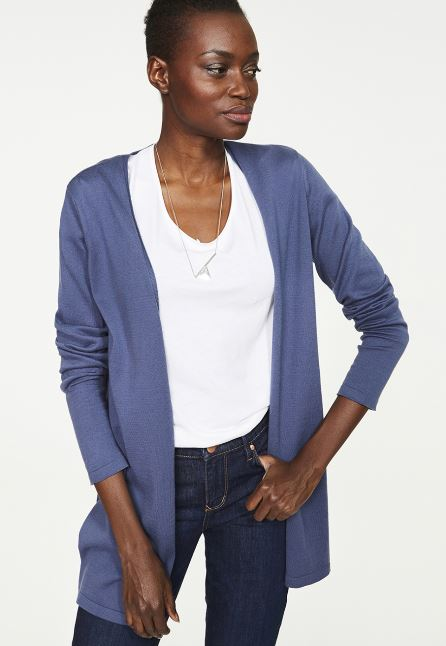 STANJA CARDIGAN MADE OF ORGANIC COTTON