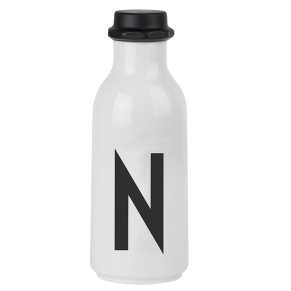 "Drinking Bottle ""N"" DESIGN LETTERS"