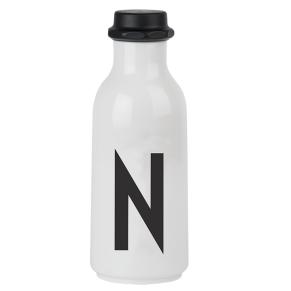 "Drinking Bottle ""N"" DESIGN LETTERS"