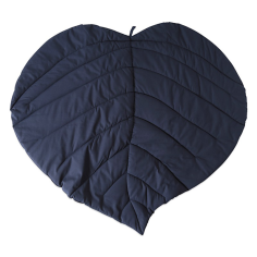 Navy Leaf play blanket MÜSLI