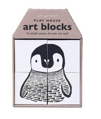 Playful scenes PLAYHOUSE ART BLOCKS