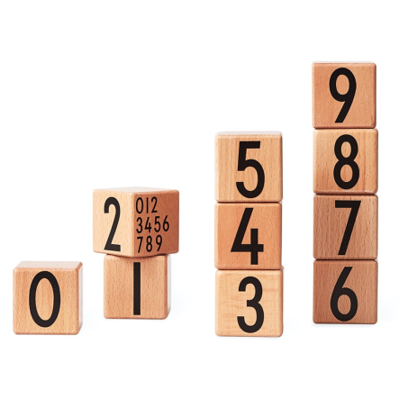 Wooden Numbers DESIGN LETTERS